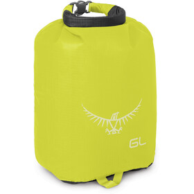 Osprey Ultralight Drysack 6 L electric lime